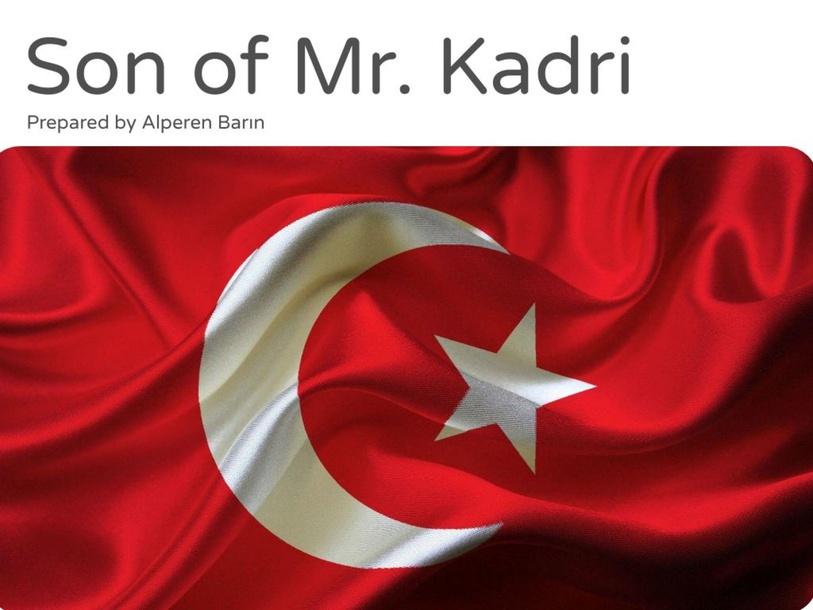 Son of Mr. Kadri by Alperen Barın