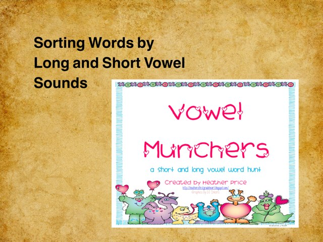 Sorting Short And Long Vowel Words - Is There A Pattern? by Dawn Davis