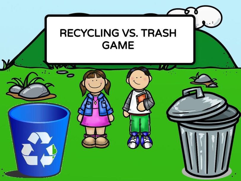 Sorting Recycling and Trash by Taylor Gonzales