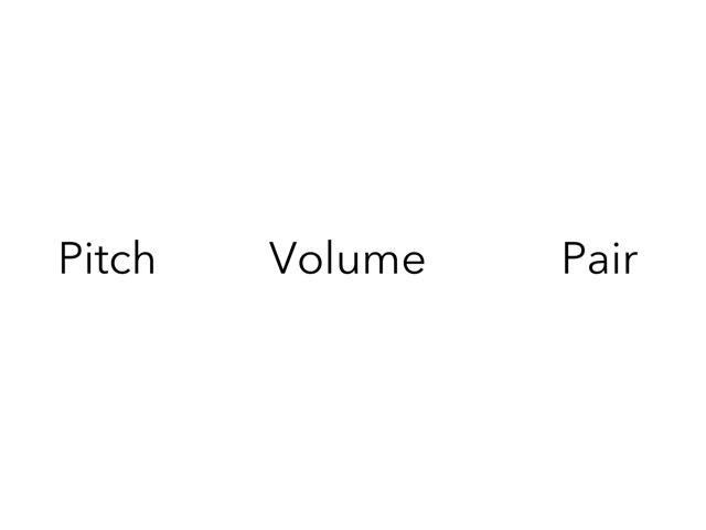 Sound Vocabulary. by Gayle Gardner