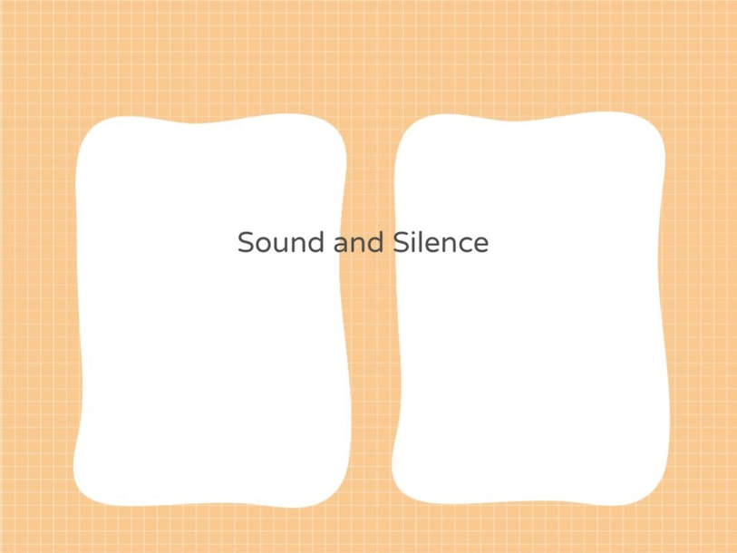 Sound and Silence by Jean Nads