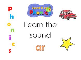Sound it Out Phonics: ar   by Joanne Arrowsmith