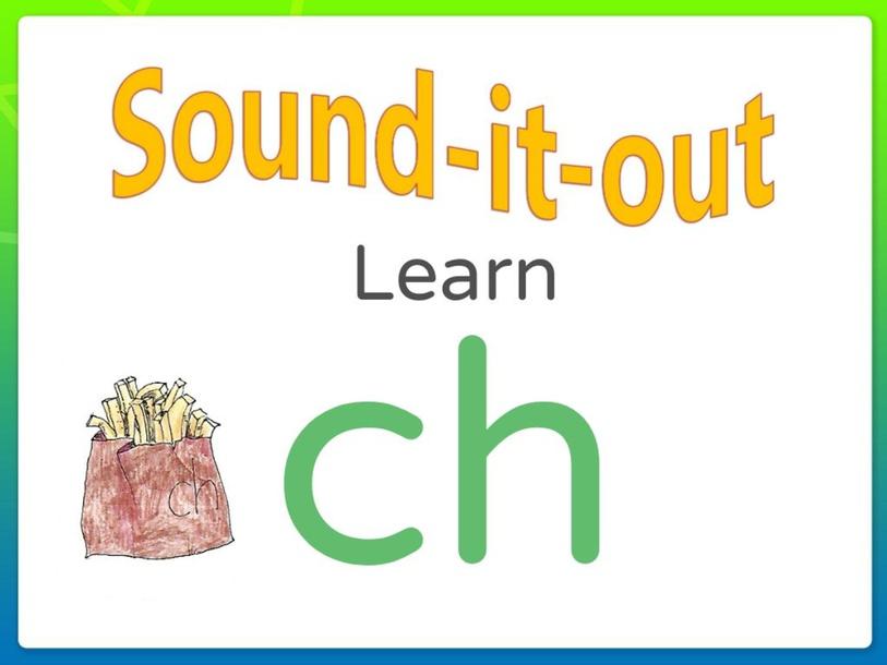 Sound it Out Phonics: ch by Joanne Arrowsmith