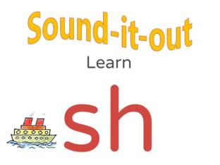 Sound it Out Phonics: sh by Joanne Arrowsmith