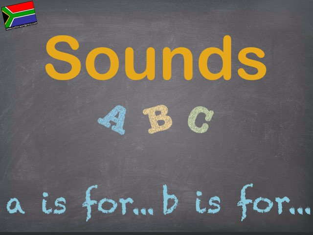 Sounds Of The Alphabet Copy  by Juffer Juffrou