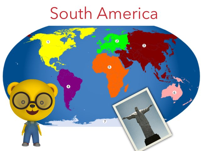 South America by Sandford Hill