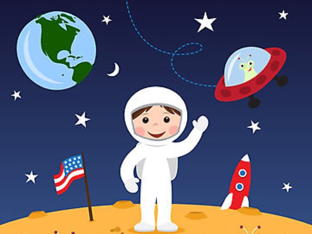 Space Adventure by Monica Silva