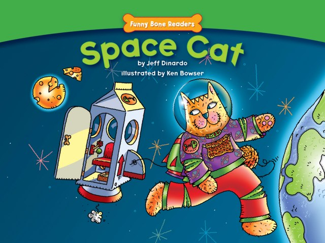 Space Cat by Red Chair Press