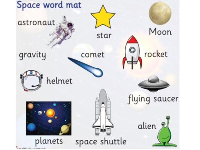 Space Vocab by Alexandra Tosh
