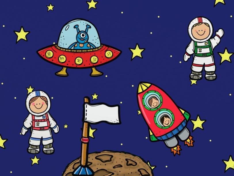 Space puzzle by Stella Kontos