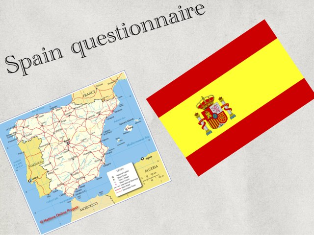 Spain Questionnaire  by Summer School