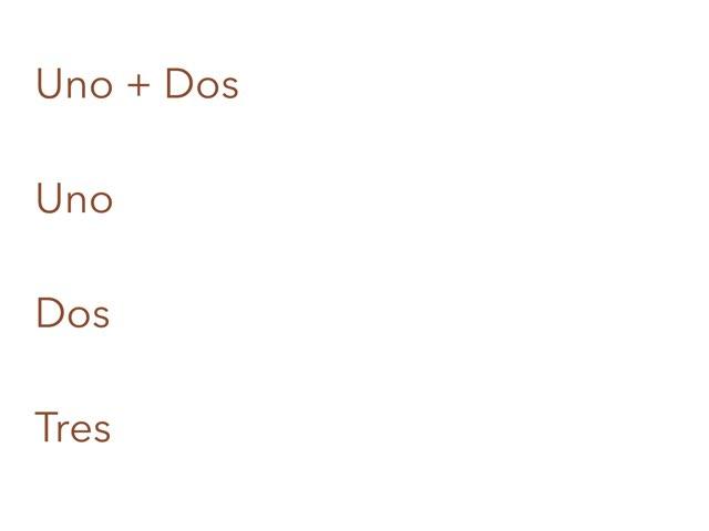 Spanish Math by Samuel Mills