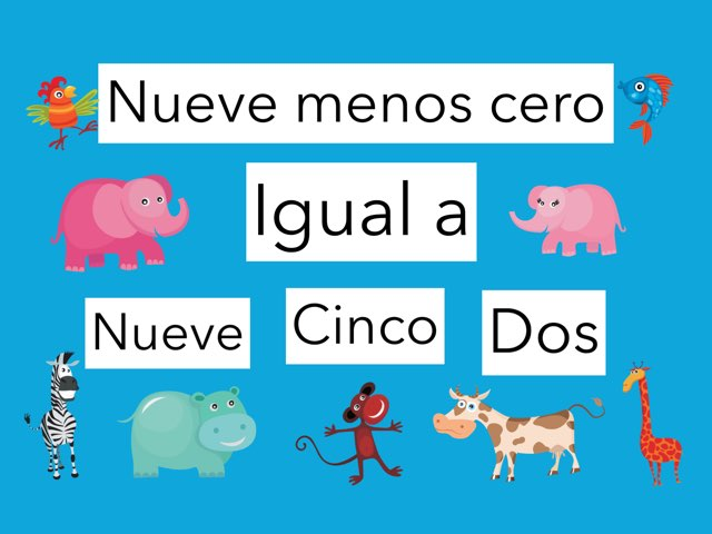 Spanish Numbers by Sarah Gibson