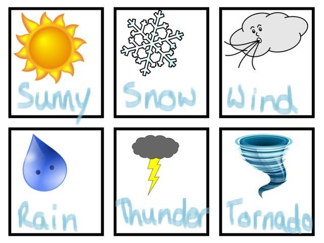 Spanish Weather Game  by Jillian Schernikau