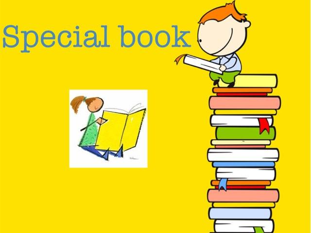 Special Book by Dania Wari