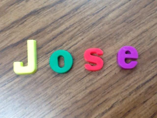 Spell Jose  by Cary Varela