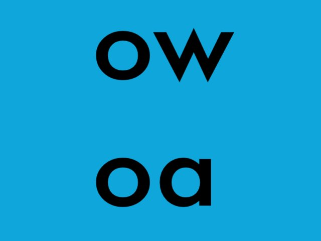 Spell Words With The 'ow' and 'oa' Sound by Chelsea James
