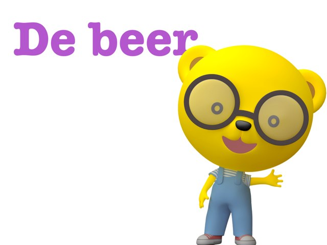 Spelletje Over De Beer by Eline Star