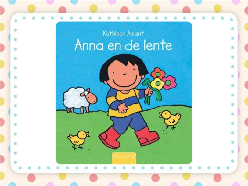Spelletje met boek 'Anne en de lente' by wilma van der Giessen