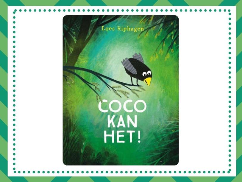 Spelletje met het boek 'Coco kan het' by wilma van der Giessen