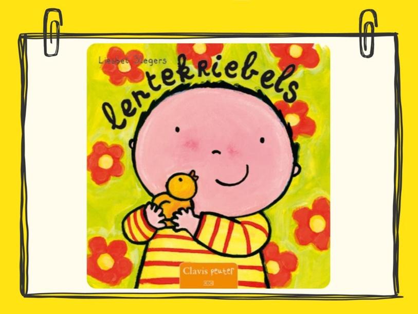 Spelletje met het boek 'Lentekriebels' by wilma van der Giessen