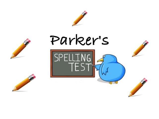 Spelling Test by Nedra Woods Singleton