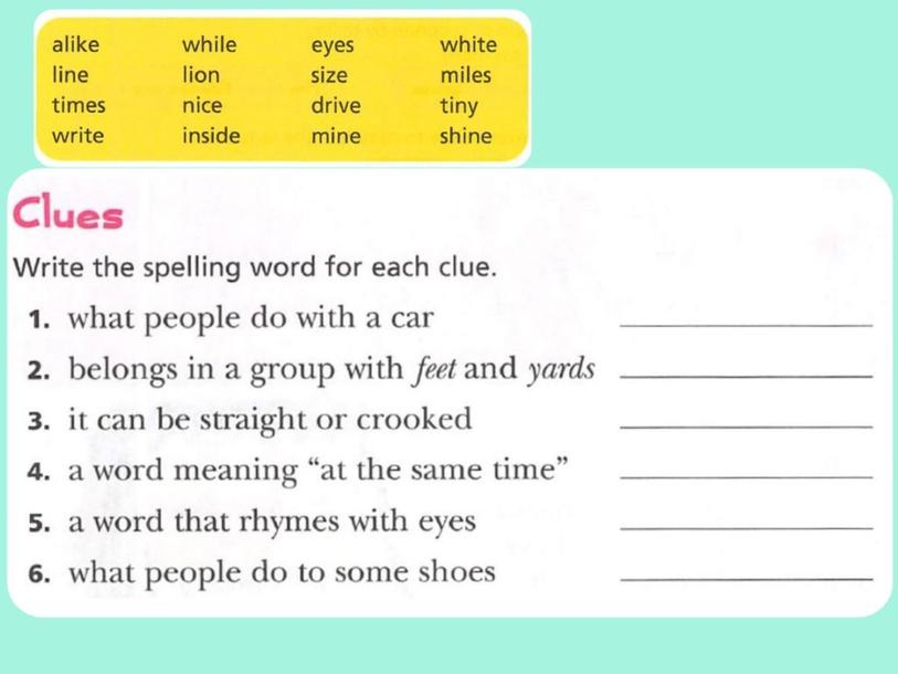 Spelling 3rd grade by Karla Zapata
