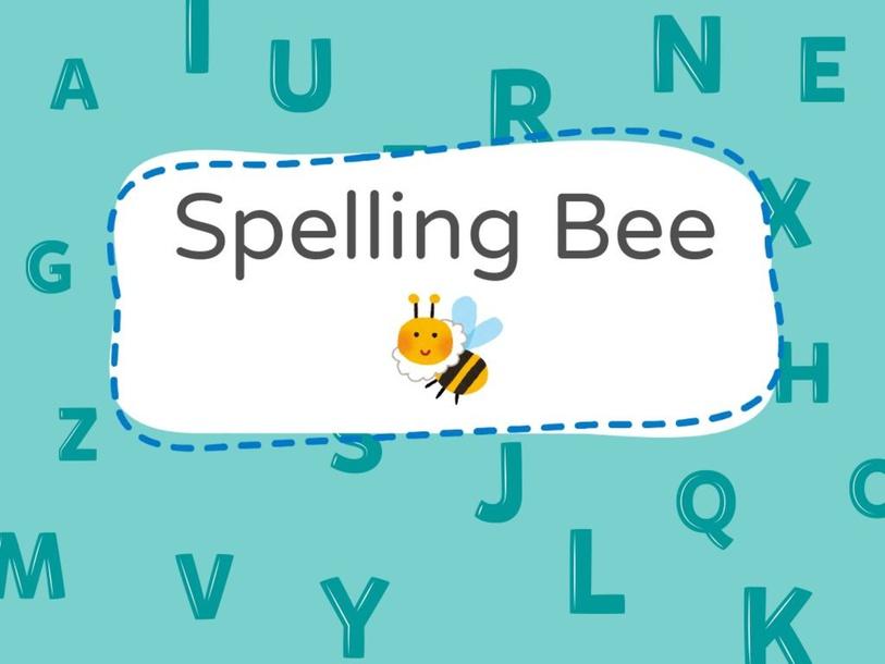 Spelling Bee 1 by Louise Bluette Santiago