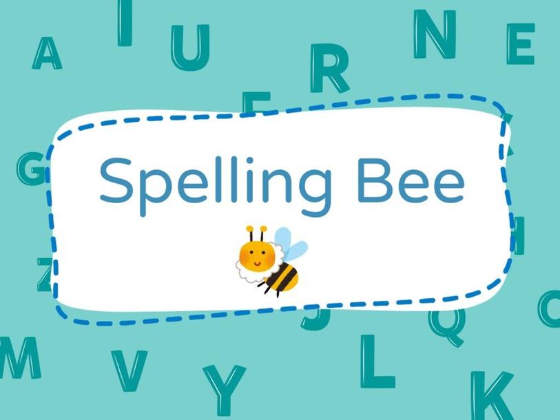 Spelling Bee by Louise Bluette Santiago