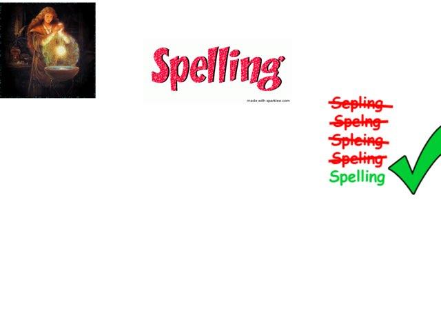 Spelling by Sinne de vries