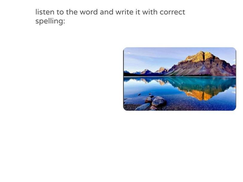 Spelling quiz: by Narjis ALArini
