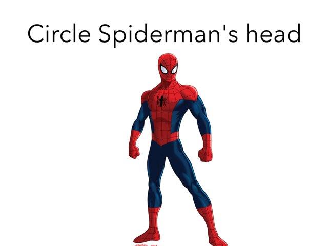 Spider-Man Body Parts by Sarah Bosch