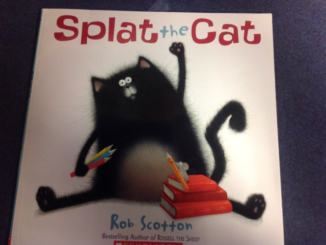 Splat The Cat by Tracey Michael