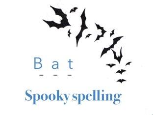 Spooky Spelling by Ann Cherner