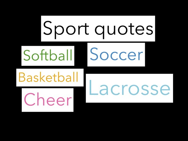 Sport Quotes by Reanna Shrestha