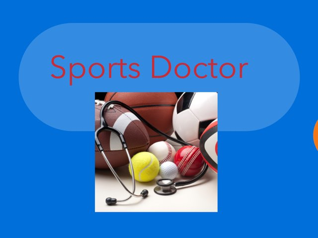Sports Medicine Physician  by Ikeiza  N.H