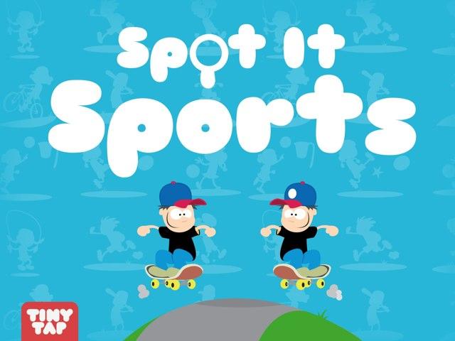 Spot It Sports by Tiny Tap