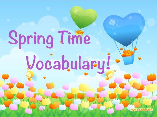Spring Time Vocabulary by Erica Lynn