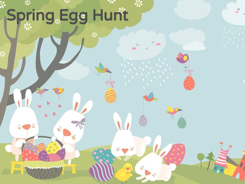 Spring Egg Hunt by Taylor Gonzales