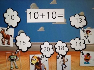Squares Adding Tens by Mrs Kelly