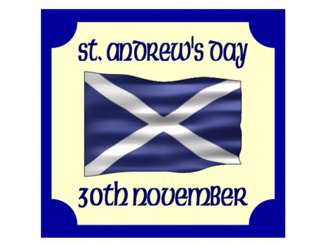 St Andrew's Day by Maite Gallego