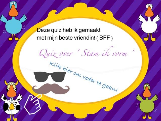 Stam Ik Vorm! Yo by Cheryn joustra