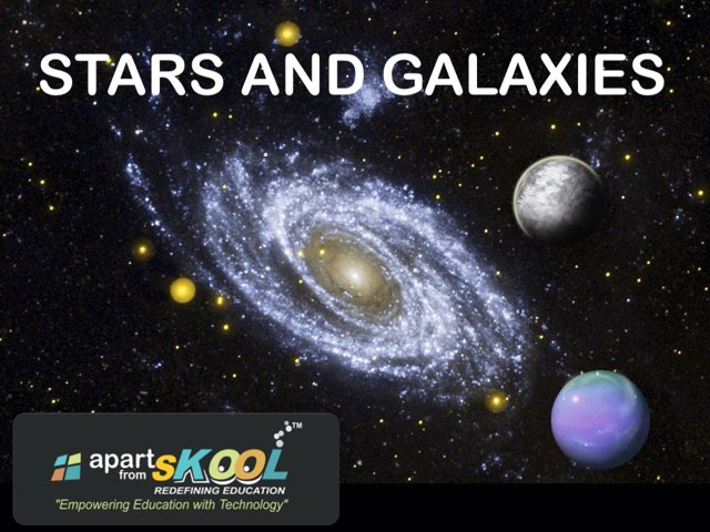 Stars And Galaxies by TinyTap creator