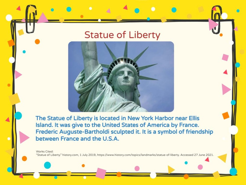 Statue of Liberty by Callie Anderson