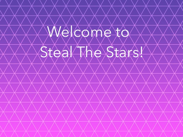 Steal The Stars by Racheal Cameron