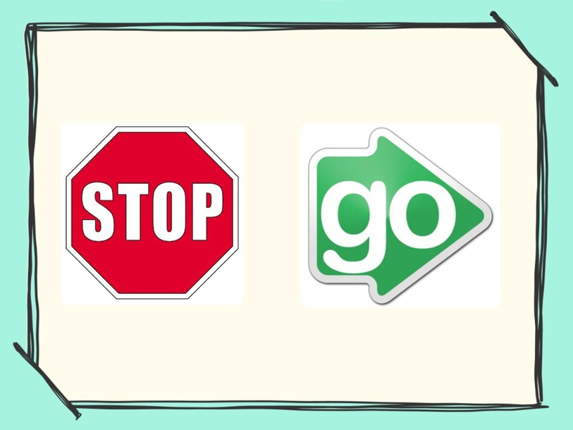Stop and Go by Melissa Fitzgerald