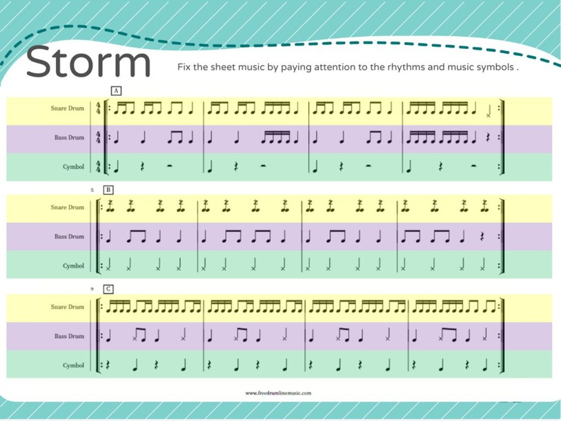 Storm Music Analysis by Rae Mad