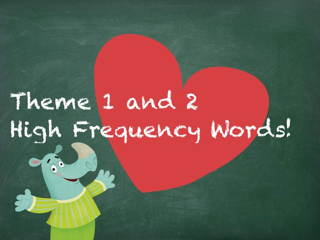 Storytown Theme 1 & 2 High Frequency Words by Jessica McPolin