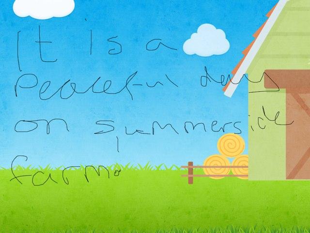 Summer side Farm by Emma Prew