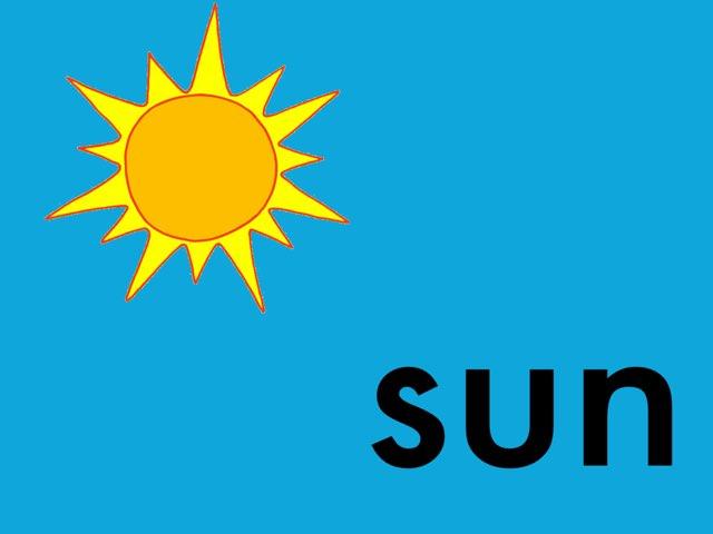 Sun Theme Vocabulary by Ann Leverette